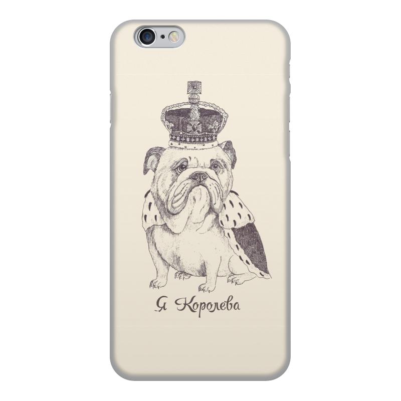 лучшая цена Чехол для iPhone 6, объёмная печать Printio Я королева