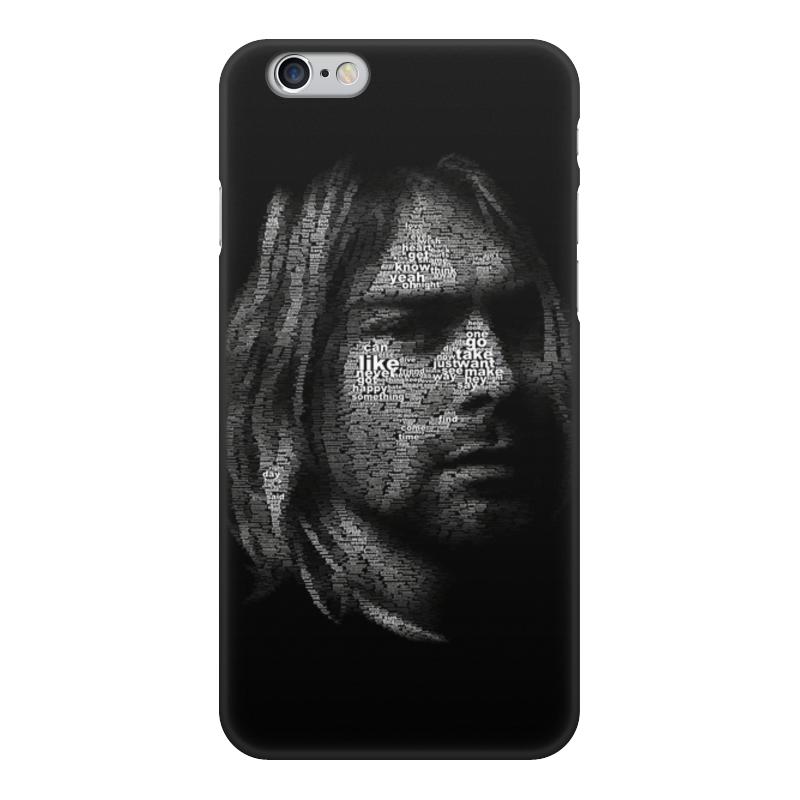 Чехол для iPhone 6, объёмная печать Printio Курт кобейн