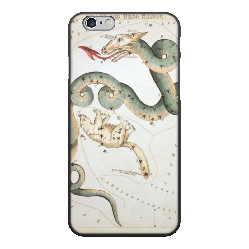 Чехол для iPhone 6, объёмная печать Printio Дракон и малая медведица (зеркало урании) кружка пивная printio созвездие гончие псы зеркало урании