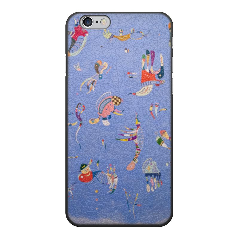 Чехол для iPhone 6, объёмная печать Printio Синее небо (василий кандинский) кандинский блокнот