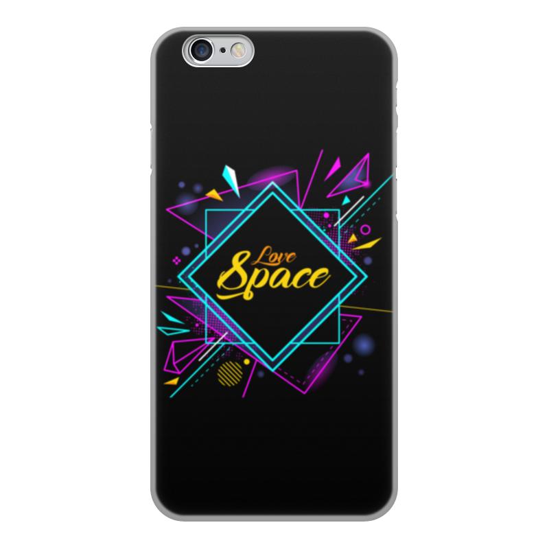 Чехол для iPhone 6, объёмная печать Printio Love space чехол для iphone 6 глянцевый printio my space