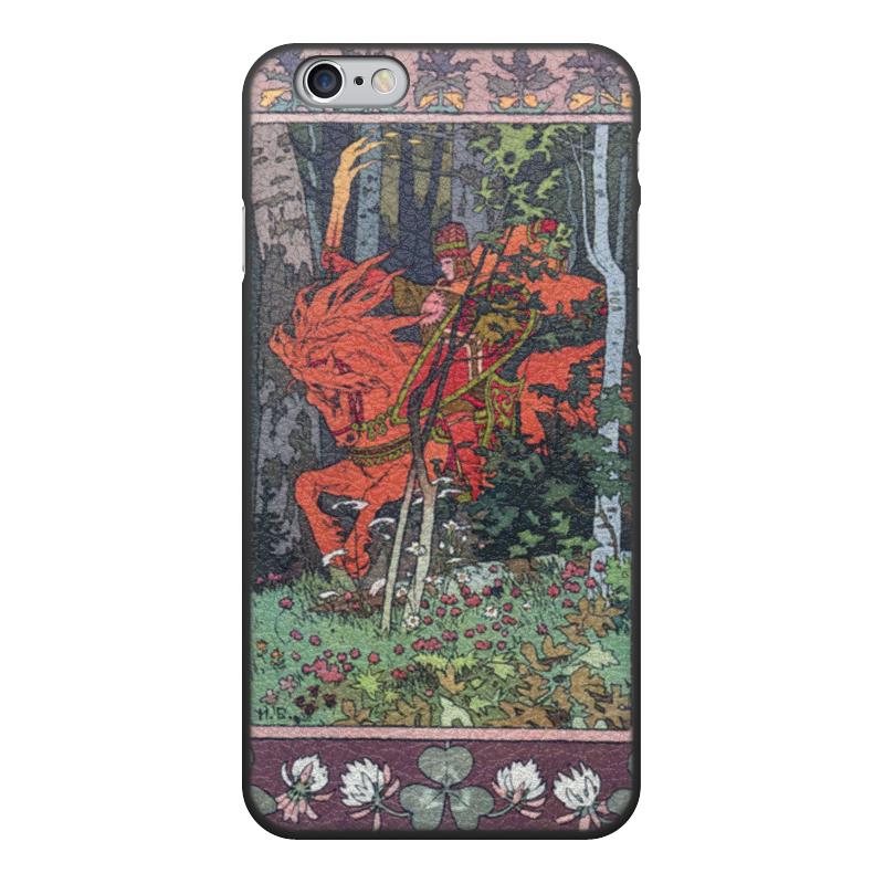 Чехол для iPhone 6, объёмная печать Printio Красный всадник (иван билибин) воскресный день билибин живопись футляр великие полотна