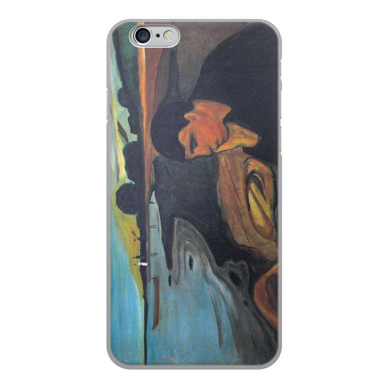 Чехол для iPhone 6, объёмная печать Printio Меланхолия (эдвард мунк)