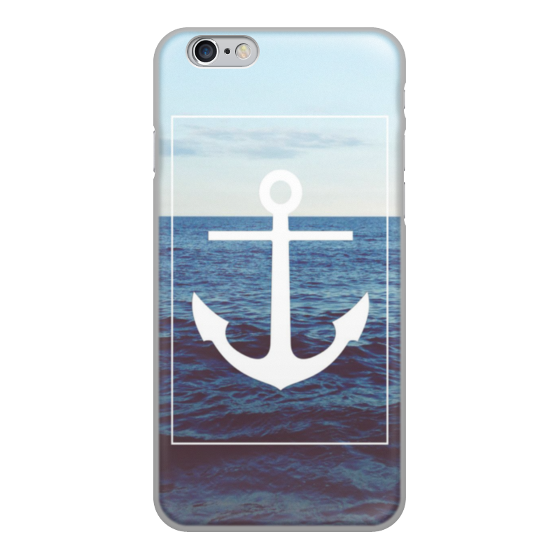 Чехол для iPhone 6, объёмная печать Printio Якорь чехол накладка для iphone 6 ozaki o coat 0 3 jelly oc555tr пластик прозрачный