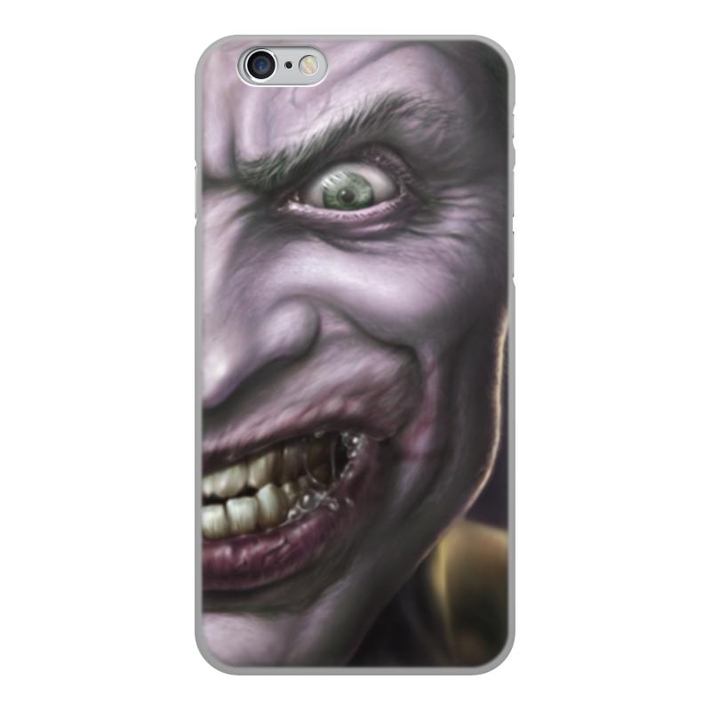 лучшая цена Чехол для iPhone 6, объёмная печать Printio Джокер