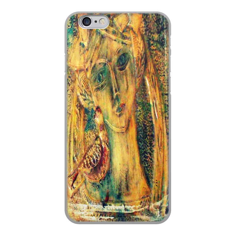 лучшая цена Чехол для iPhone 6, объёмная печать Printio Птица синица