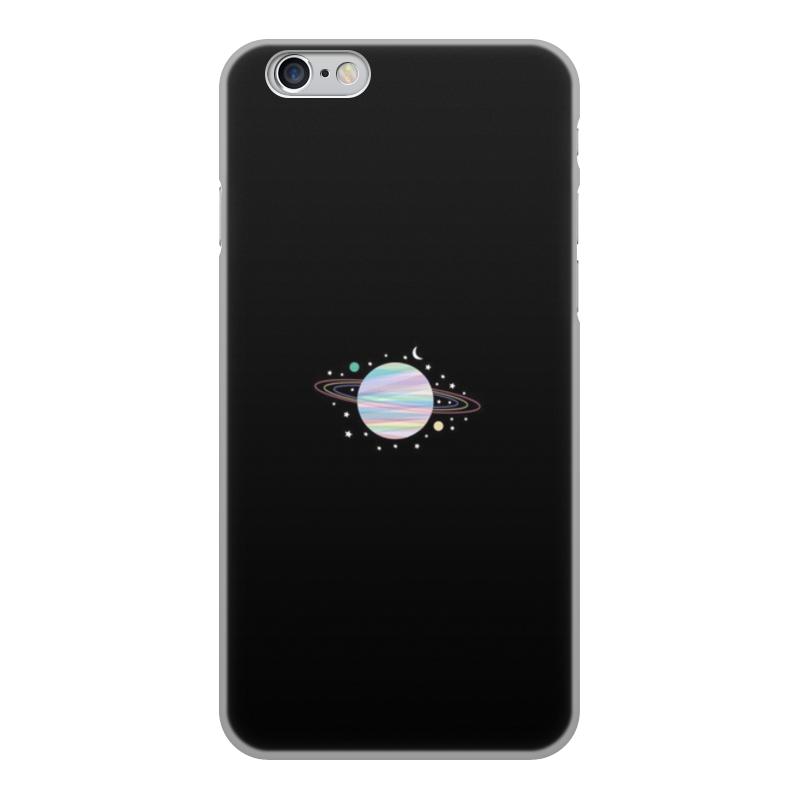 Чехол для iPhone 6, объёмная печать Printio Космос планета