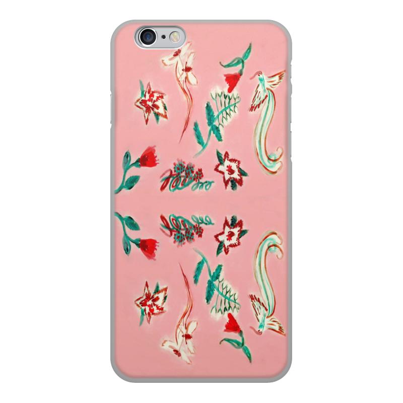 Чехол для iPhone 6, объёмная печать Printio Цветочная сказка цена