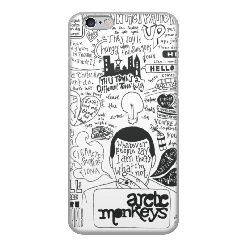 Чехол для iPhone 6, объёмная печать Printio Arctic monkeys цена