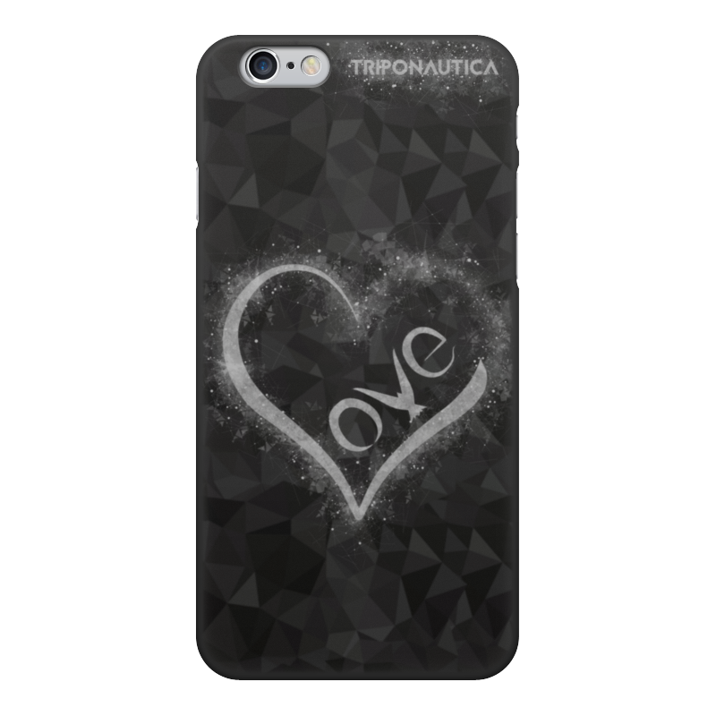 Printio Ilove black/light grey чехол для iphone 6 объёмная печать printio ilove black light grey