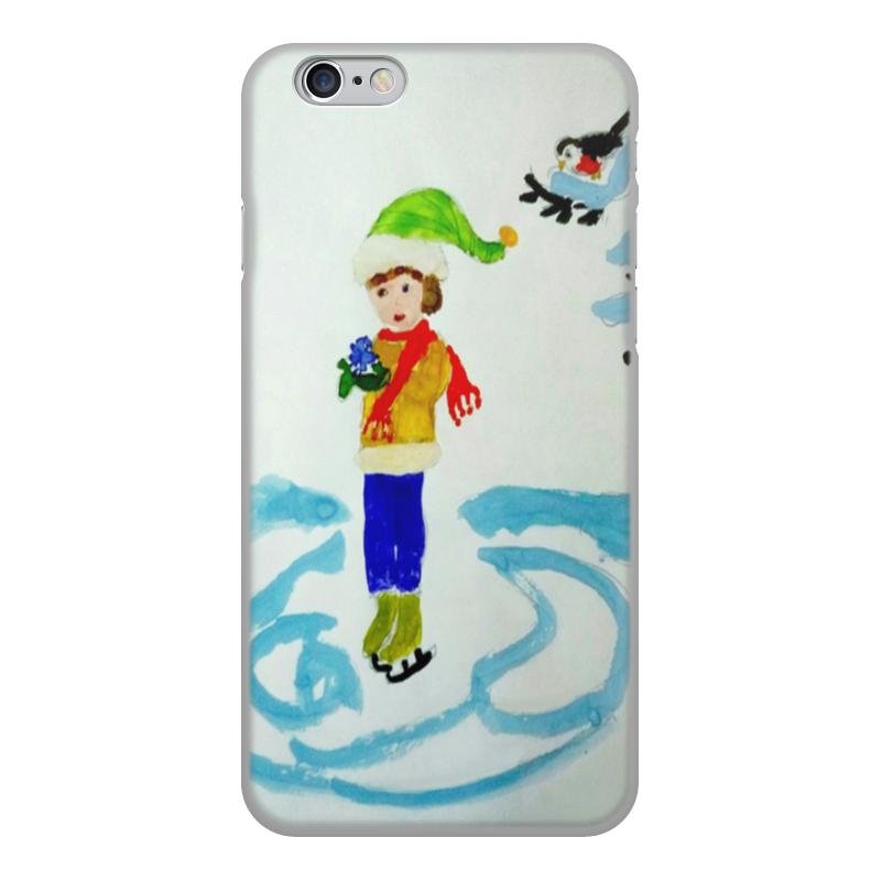 Чехол для iPhone 6, объёмная печать Printio Зимние забавы зимние забавы раскраска