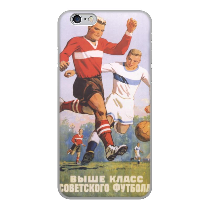 Чехол для iPhone 6, объёмная печать Printio Советский плакат, 1954 г. утюг 1954 года