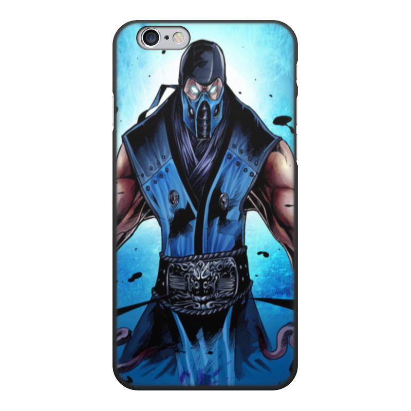 Фото - Чехол для iPhone 6, объёмная печать Printio Mortal kombat x (sub-zero) чехол для iphone 5 глянцевый с полной запечаткой printio deadpool vs punisher