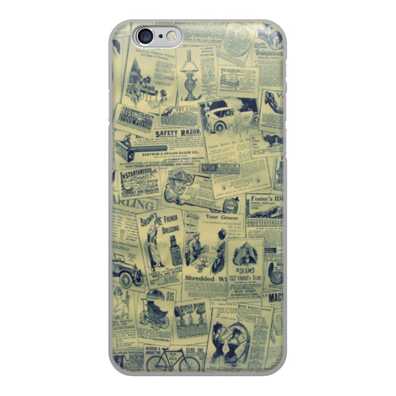 лучшая цена Чехол для iPhone 6, объёмная печать Printio Ретро
