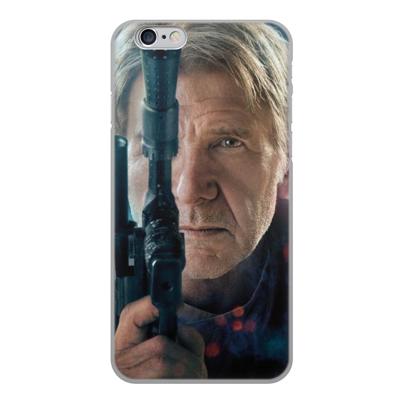 Чехол для iPhone 6, объёмная печать Printio Звездные войны - хан соло чехол для iphone 5 printio звездные войны хан соло