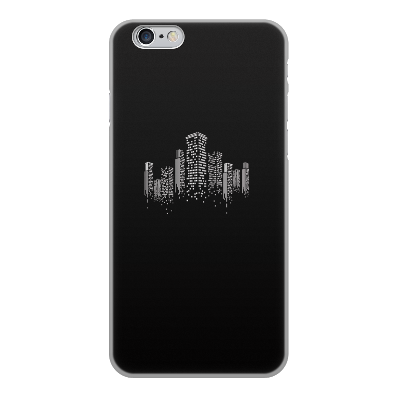 Чехол для iPhone 6, объёмная печать Printio Огни ночного города марина городничева восьмая луна сказки ночного города