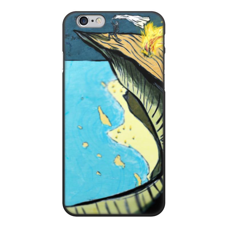 Чехол для iPhone 6, объёмная печать Printio Sea and rocks чехол для iphone 7 объёмная печать printio sea and rocks