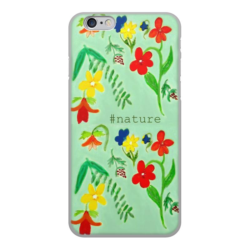 Чехол для iPhone 6, объёмная печать Printio Чехол летние цветы чехол для ноутбука 14 printio чехол чехол чехол луговые цветы