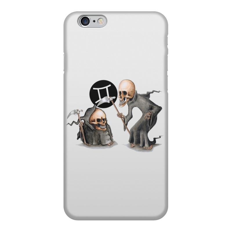 Чехол для iPhone 6, объёмная печать Printio Знаки зодиака - близнецы anne geddes 9 детки знаки зодиака близнецы unimax