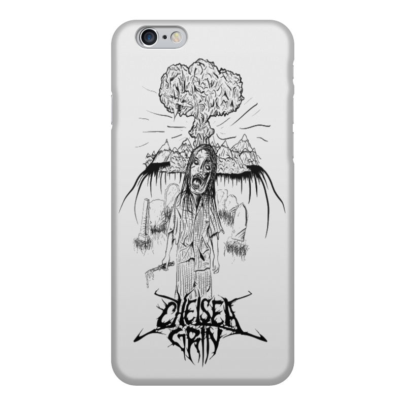 Чехол для iPhone 6, объёмная печать Printio Chelsea grin gumai silky case for iphone 6 6s black