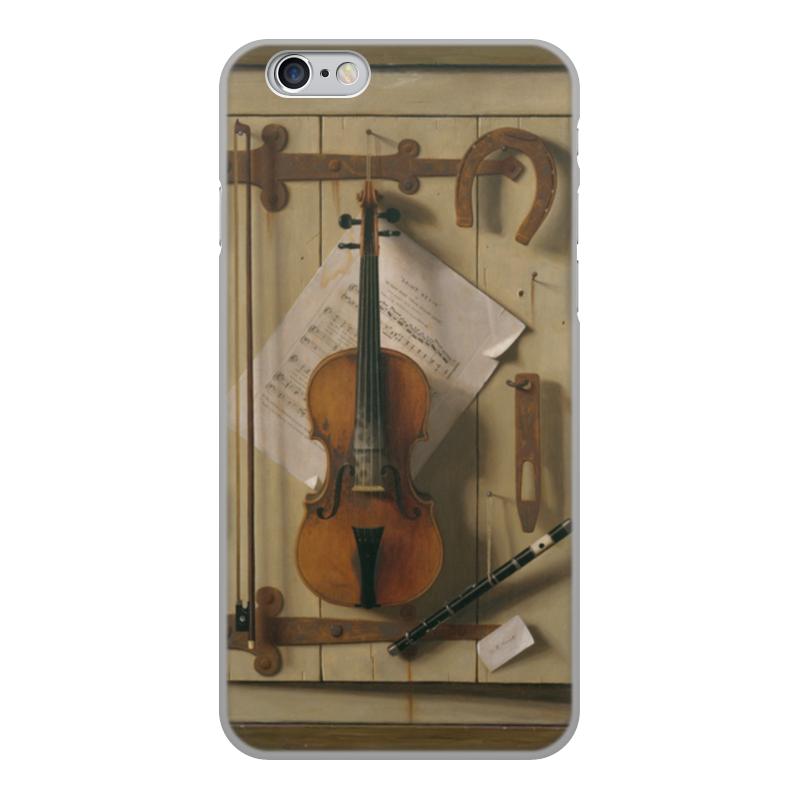Чехол для iPhone 6, объёмная печать Printio Натюрморт со скрипкой (уильям харнетт) уильям пол янг ева
