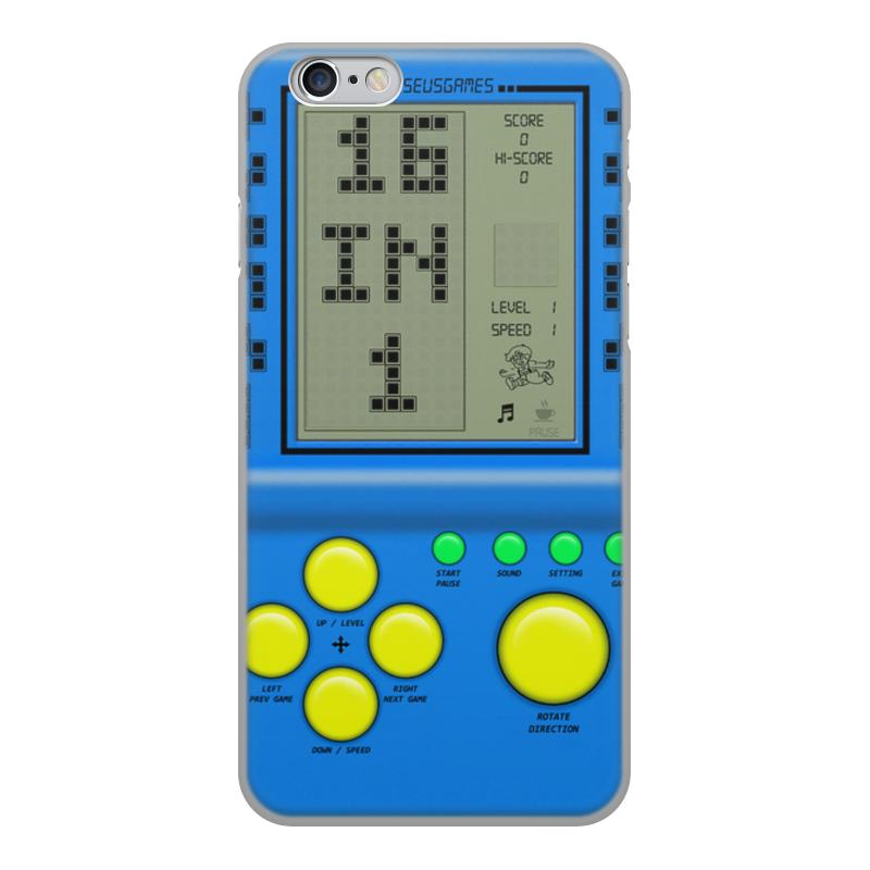 Чехол для iPhone 6, объёмная печать Printio Brick game чехол для iphone 6 глянцевый printio doom game