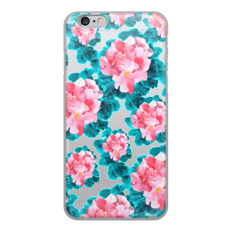 Printio Цветы чехол для iphone 6 объёмная печать printio полевые цветы