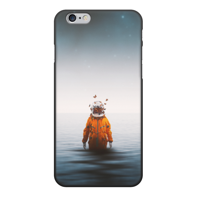 Чехол для iPhone 6, объёмная печать Printio Space in ocean чехол для iphone 4 глянцевый с полной запечаткой printio my space