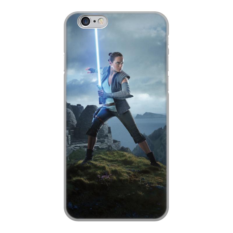 Фото - Чехол для iPhone 6, объёмная печать Printio Звездные войны - рей чехол для iphone 5 глянцевый с полной запечаткой printio deadpool vs punisher