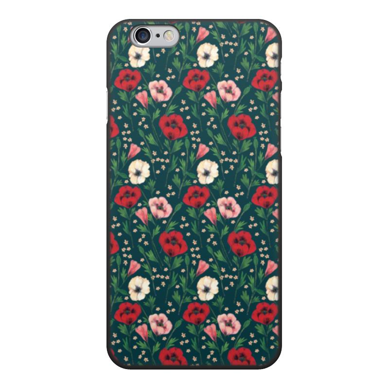 лучшая цена Чехол для iPhone 6, объёмная печать Printio Нотки нежности