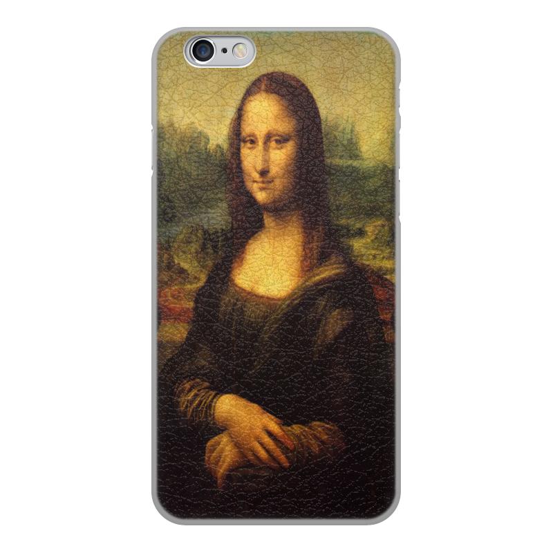 Чехол для iPhone 6, объёмная печать Printio Mona liza чехол для iphone 5 printio с именем лиза