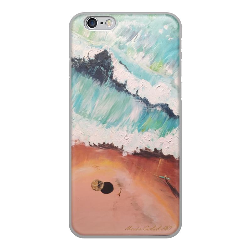 Чехол для iPhone 6, объёмная печать Printio Лазурный берег телевизор polar p49l21t2c 49