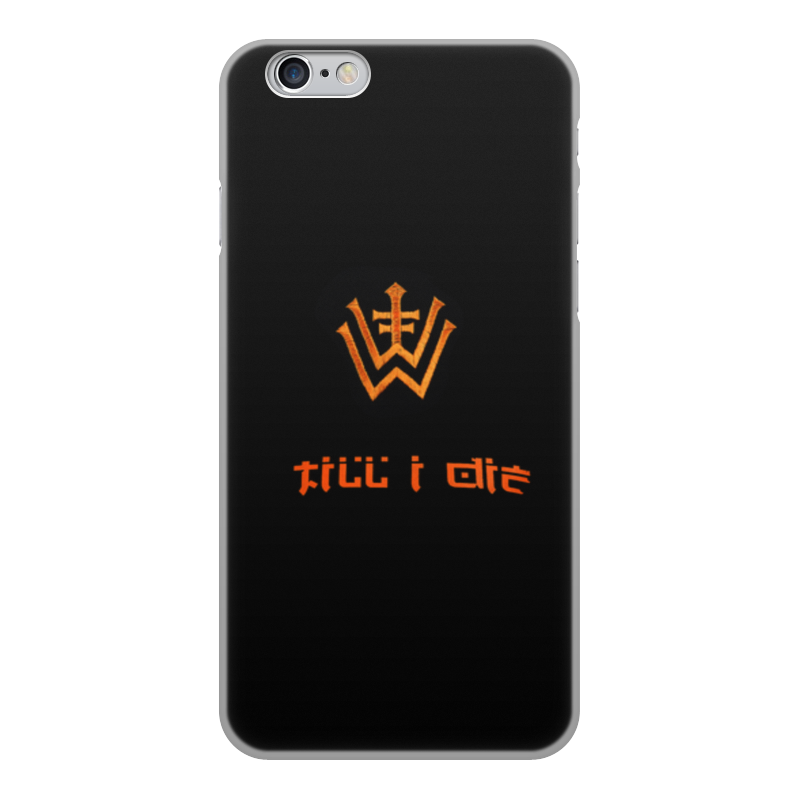 где купить Чехол для iPhone 6, объёмная печать Printio Till i die по лучшей цене