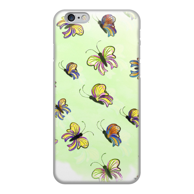 Чехол для iPhone 6, объёмная печать Printio Бабочки чехол для iphone 6 глянцевый printio сальвадор дали бабочки
