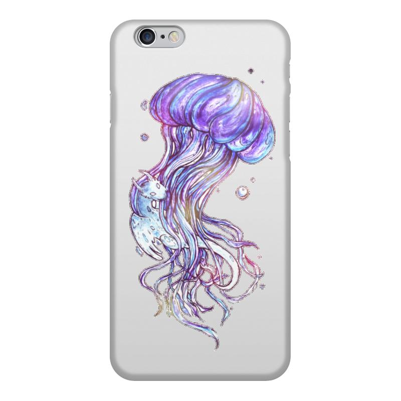 Чехол для iPhone 6, объёмная печать Printio Медуза и дух воды чехол север чувствуешь холод значит ты дома iphone 6