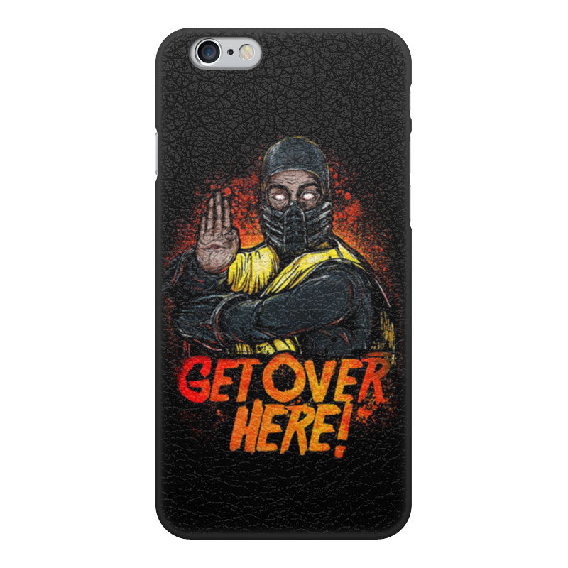 Чехол для iPhone 6, объёмная печать Printio Mortal kombat gumai silky case for iphone 6 6s black