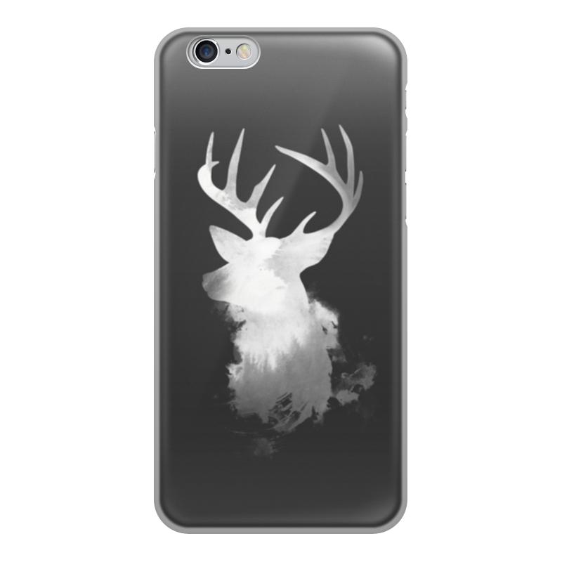 Чехол для iPhone 6, объёмная печать Printio Олень чехол накладка для iphone 6 ozaki o coat 0 3 jelly oc555tr пластик прозрачный