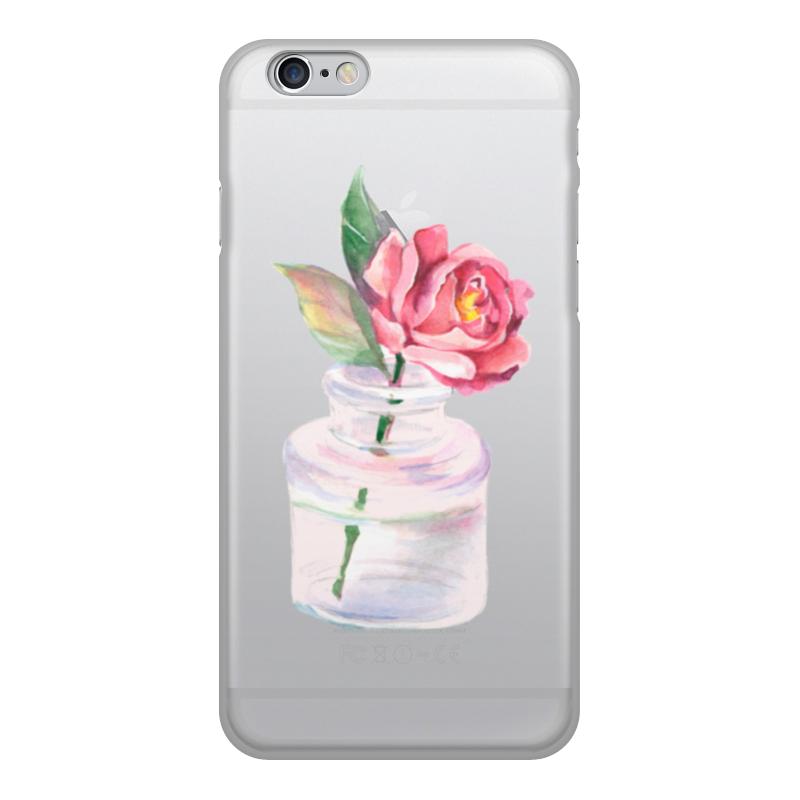 Чехол для iPhone 6, объёмная печать Printio Цветы printio чехол для iphone 6 объёмная печать