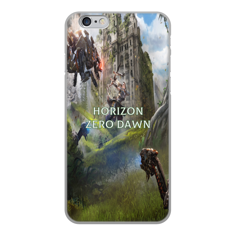 Чехол для iPhone 6, объёмная печать Printio Horizon zero dawn replacement assembly parts buzzer ringer loud speaker for iphone 6