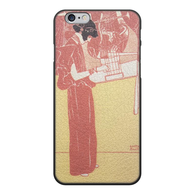 все цены на Чехол для iPhone 6, объёмная печать Printio Музыка (густав климт)