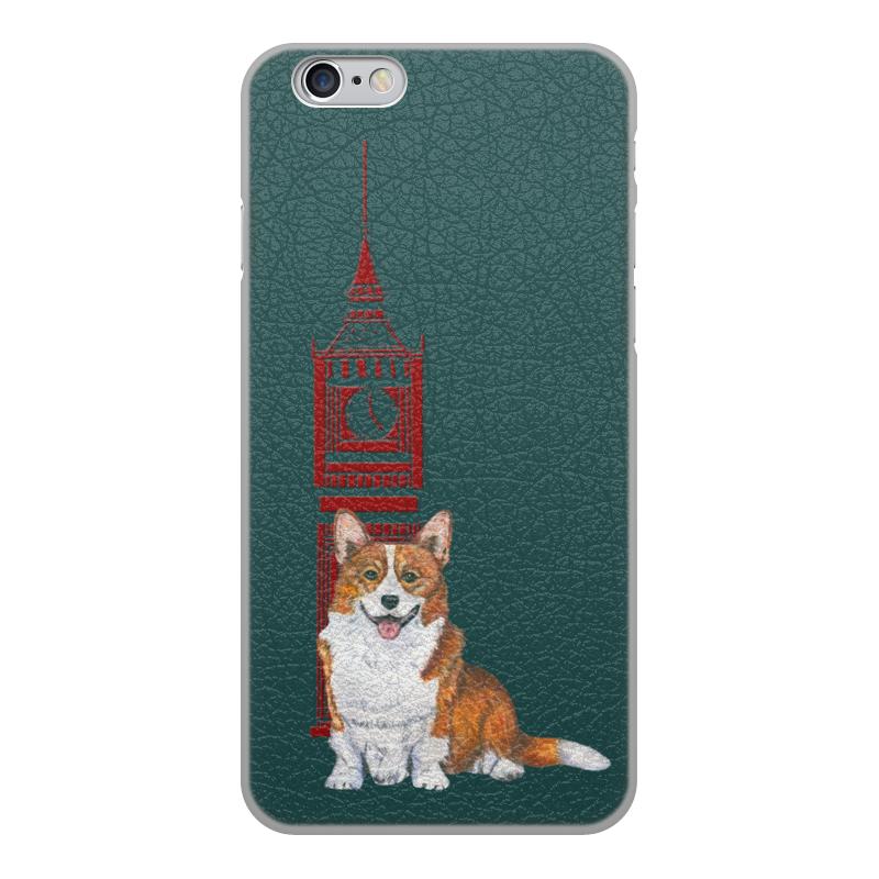 Чехол для iPhone 6, объёмная печать Printio Осень и корги чехол для iphone 6 глянцевый printio геркулес и омфала