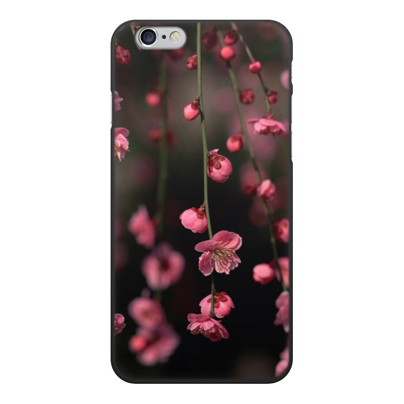 Чехол для iPhone 6, объёмная печать Printio Цветы чехол для iphone 6 глянцевый printio металлический