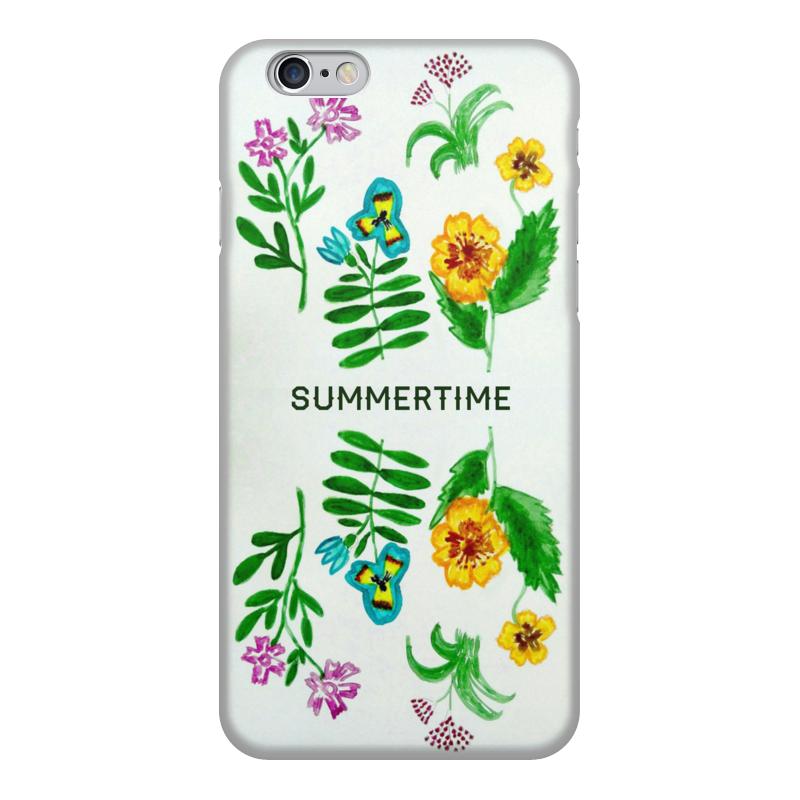 Чехол для iPhone 6, объёмная печать Printio Полевые цветы чехол для ноутбука 12 printio чехол чехол чехол полевые цветы