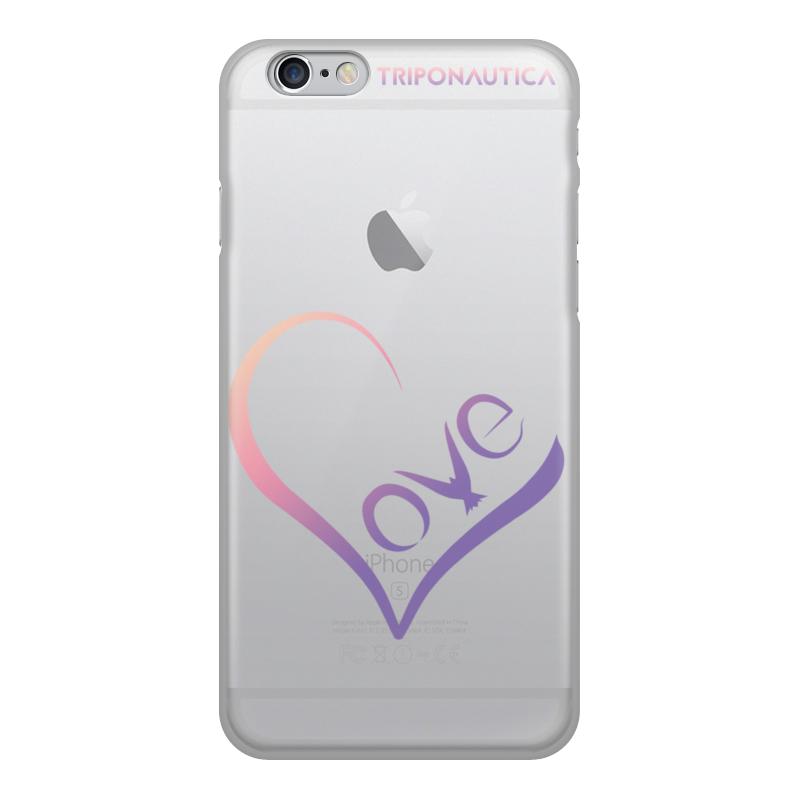 Чехол для iPhone 6, объёмная печать Printio Ilove se черная любовь шаблон мягкий чехол тонкий тпу резиновый силиконовый гель чехол для iphone 6 6s