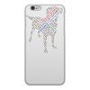 """Чехол для iPhone 6, объёмная печать """"Я друг Собак"""" - любовь, животные, надписи, собака, слова"""