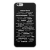 """Чехол для iPhone 6, объёмная печать """"Манта для настоящих мужчин (черный вариант)"""" - праздник, мужчина, подарок, пожелания, мантра"""