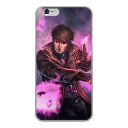 """Чехол для iPhone 6, объёмная печать """"Гамбит"""" - марвел, комиксы, gambit, comics"""