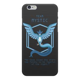 """Чехол для iPhone 6, объёмная печать """"Team Mystic"""" - мультфильм, pokemon, покемон, мистик, mystic"""