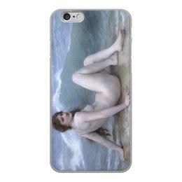 "Чехол для iPhone 6, объёмная печать ""Волна (картина Бугро)"" - картина, академизм, живопись, ню, бугро"