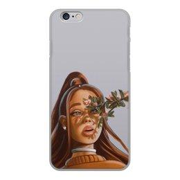 """Чехол для iPhone 6, объёмная печать """"Ариана Гранде"""" - весна, певица, фотография, арианагранде"""